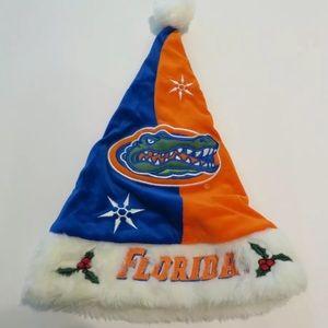 University of Florida UF Gators Santa Hat